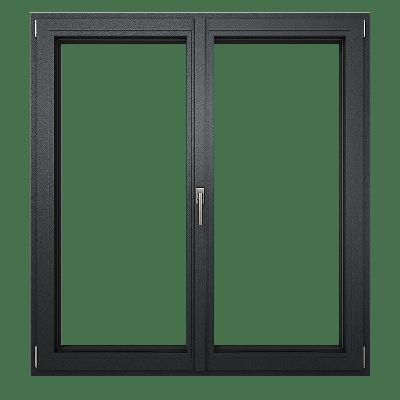 okno aluminiowe przed montażem
