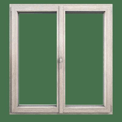 okno plastikowe dwuskrzydłowe